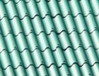 Черепица керамопласт   500 мм х 900 мм х 4,5 мм